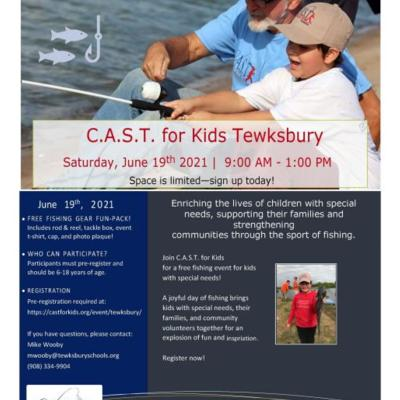 C.A.S.T. for Kids Tewskbury