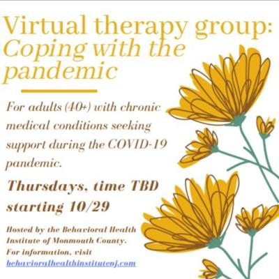 Coping with the Pandemic - 8 Week Virtual Therapy Group